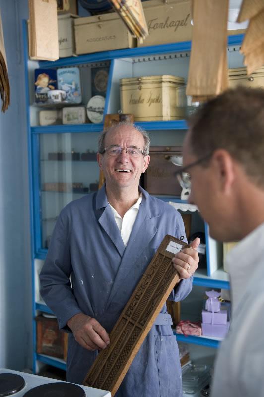 Theo Spil van het Bakkerijmuseum 'de Oude Bakkerij'