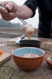 Westfriese Tafel Mirjam en Michiel Bus - 'Goede nestkip' met Agria aardappel