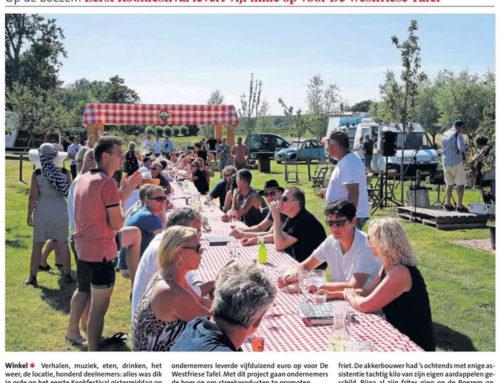 Kookfestival groot succes